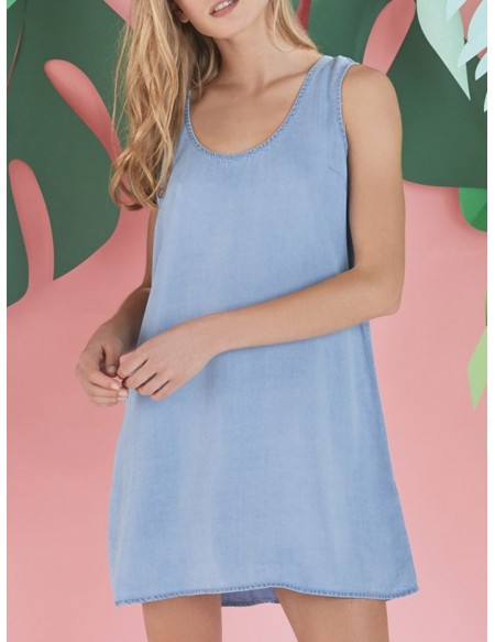 Vestidos Denim Ju